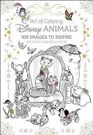 disney coloring books art of coloring disney s 100 images to inspire creativity and relaxation
