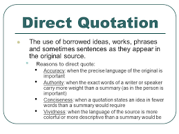Direct Quote Adorable Summary Paraphrase Direct Quote Plagiarism Ppt Video Online
