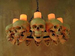 full size of real wax candle chandeliers life size skull chandelier with skulls using candles outdoor