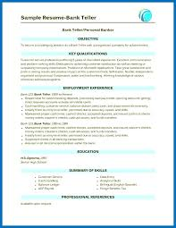 Pictures Gallery Of Resume For Bank Jobs Banking Sector Job