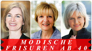 Modische Frisuren Ab 40 Youtube