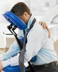 chair massage. corporate chair massage