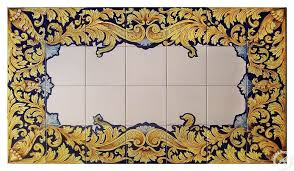 GH285/P11, Tile mural, floor panel, table top -
