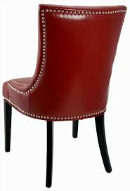 Red Leather Dining Room Chairs Leder Esszimmer Stühle