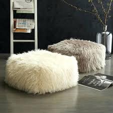 faux fur rug area ideas mongolian