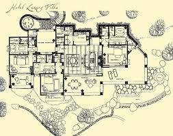 hotel floor plans. Esperanza Hotel Luxury Villa Floor Plans