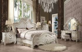 Versailles Collection Antique White Bedroom Set by ACME – Furniture Plus