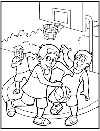 Printable Sports Coloring Pages Coloringmecom