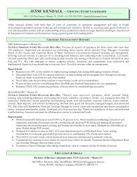 Department Store Manager Resumes 15 Retail Manager Resume Medical Resume