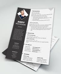 Free Ms Word Resume And Cv Template Collateral Design New Templates