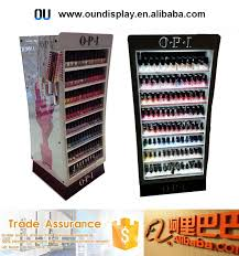 Opi Display Stand countertop essie nail polish cosmetic display custom acrylic opi 2