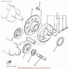 Yamaha v max1200 1986 g usa starter clutch schematic partsfiche wiring diagram