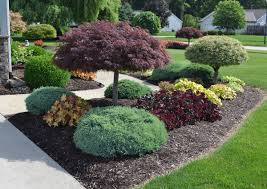 Landscape Design Idea for the Outside of a Sidewalk.