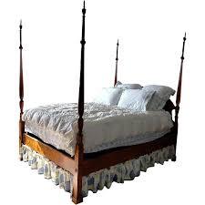 Leonard's Antiques Queen 4-Post Bed