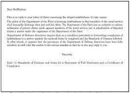 referral to service member debtor sample letter of complaint referred to service member debtor