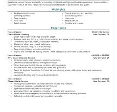 House Cleaning Resume Examples 40 Marshall Gparchitects Awesome House Cleaning Resume