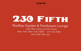 100 230 fifth gift certificate