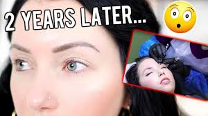 microblading eyebrow tattoo bleaching agent
