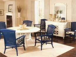 Blue Wood Dining Chairs Winda  Furniture - Dining room chairs blue
