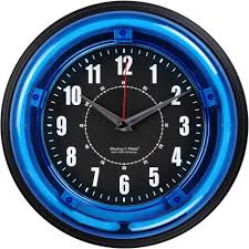 cool office clocks. Clocks, Captivating Battery Operated Wall Clocks Clock Size Black Round Cool Office