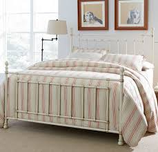 Metal Bedroom Furniture Bennington White Metal Bed Beds Bedroom Furniture Bedroom