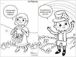 Spring Coloring Pages In Spanish Spanglishbaby