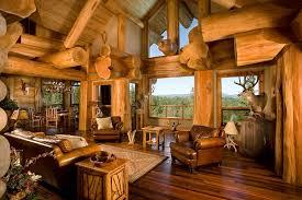 Log cabin interiors designs Bathroom Decor Deavitanet Log Cabin Interiors Beautiful Rustic Design And Decoration Ideas