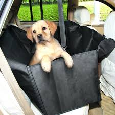 car seats car rear seat covers for dogs waterproof cover pets dog with belt uk
