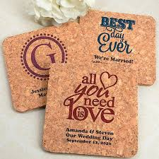 Custom cork coasters Cork Trivet Ecofriendly Cork Coaster Wedding Favors Personalized With Classic Wedding Designs And Custom Text My Wedding Reception Ideas Drink Coasters Square Cork Custom Printed Wedding