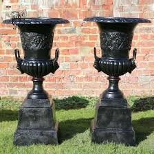 china cast iron flower pots and cast