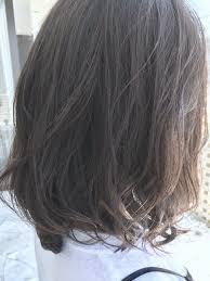 硬い髪の毛も柔らかく見えるのが透明感カラー 美容院美容室