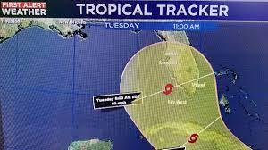 Tropical Storm Elsa tracking ...