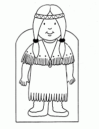 Free Native American Indian Coloring Pages Printable Coloring Page