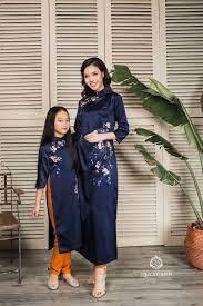 BST Áo dài Mẹ và bé 2018 | Áo dài, Thời trang châu á, Dress outfits