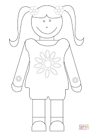 weird girl scout daisy coloring pages page free printable