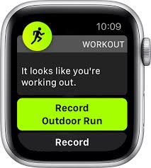 use the workout app on your apple watch