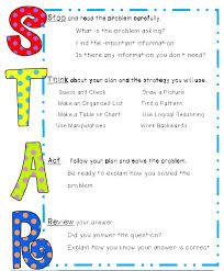 problem solving strategies star thinking steps