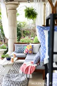 Spring Patio Decorating Ideas Maison de Pax