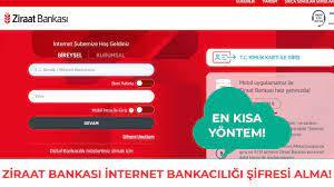Ziraat Bankası İnternet Bankacılığı Şifresi Nasıl Alınır? Bankaya Gitmeden  Mobil Şifre Alma! - YouTube