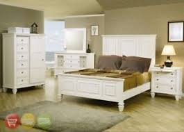 white coastal furniture. Interesting Furniture Image Is Loading SandyBeachKingWhiteCoastalPanelBed4 Throughout White Coastal Furniture EBay