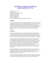 Best Solutions Of Personal Trainer Cover Letter Sample Guamreview