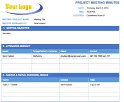 Meeting Minutes Template Free Free Meeting Minutes Templates Instructions Smartsheet