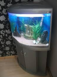Fish Tank Aqua One Silver Ufo 700 Corner Fish Tank Aquarium Matching Stand