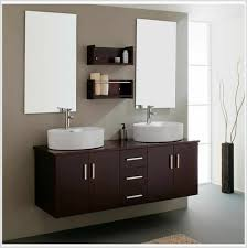 Chic Modern Bathroom Wall Cabinet Design With Floating Small - Modern bathroom shelving