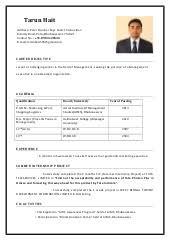 Mba Resume Format Amazing Mba Resume Format