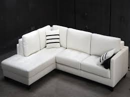 L Shaped Sofa Luxury Contemporary White L Shaped Leather Sectional Sofa  Modern