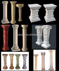 Pillars For Home Decor Decorative Pillars For Homes Half Wall Columns Interior Decorating