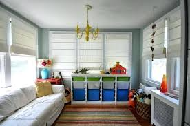 Kids organization furniture Kids Playroom Kids Bedroom Toy Organization Attractive Colorful Storage Cabinets For Toys With White Wooden Kids Bedroom Shelves And Distinctive Golden Ceiling Lamp For Salsakrakowinfo Kids Bedroom Toy Organization Attractive Colorful Storage Cabinets