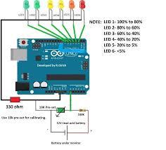 wiring diagram battery icon wiring diagram libraries battery level indicator circuit using arduino electronic diy