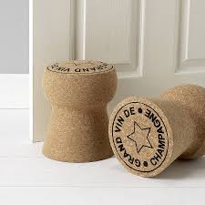 Giant Champagne Cork Door Stop